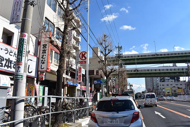 黒川駅からのアクセス①