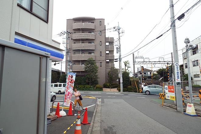 駅からの道順①
