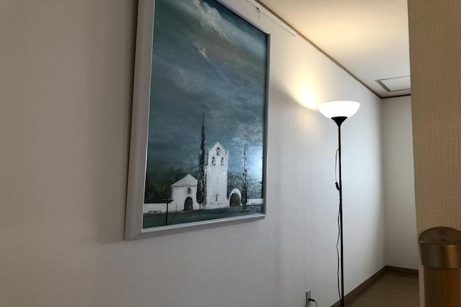 画廊のような整体院です。
