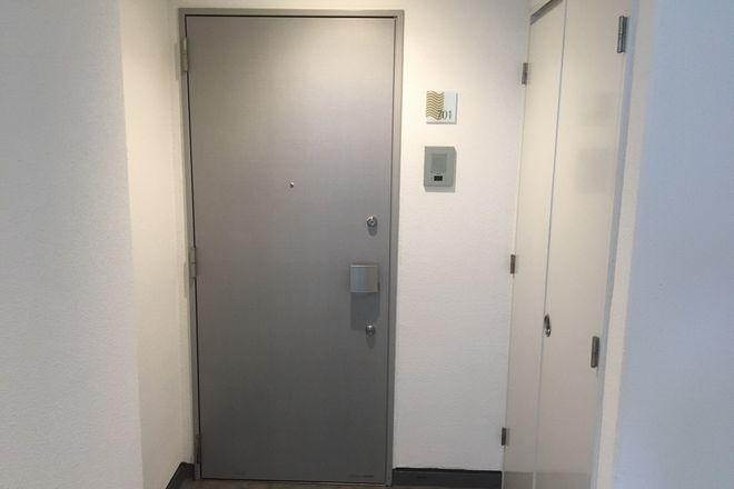 癒しの空間、サロンへの扉です。