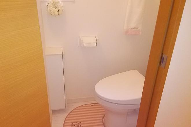 清潔感あるお手洗い♪