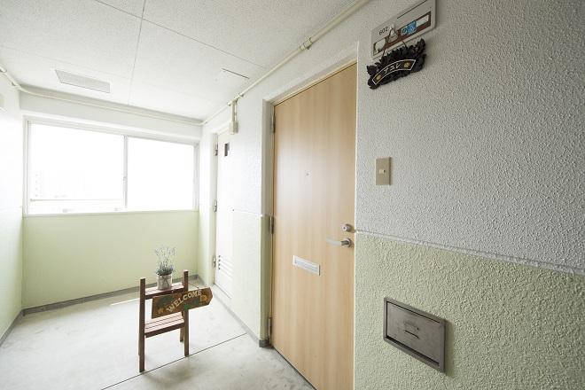 マンションの一室のプライベートサロン