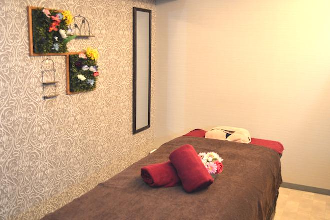 施術スペースは完全個室です