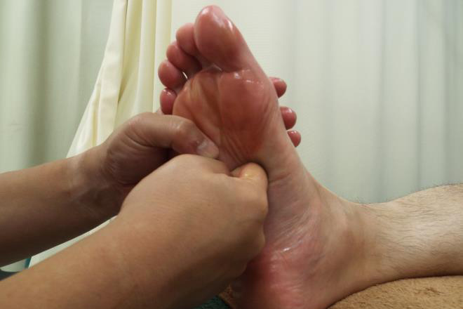パンプス張って冷たい足も健康に