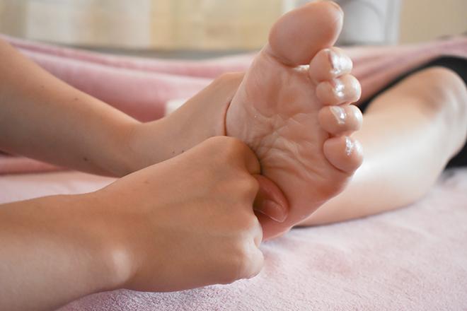 足裏のリフレクソロジーもおすすめです