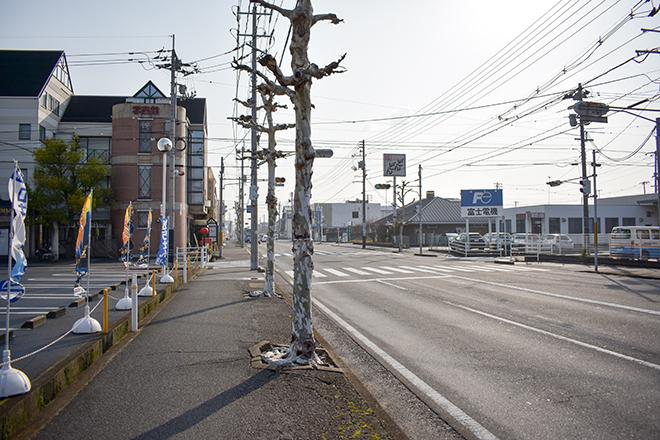 東福山駅からの車でのアクセス①