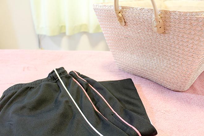 中国式 足つぼリンパマッサージ 動きやすいジャージのお着替えをご用意