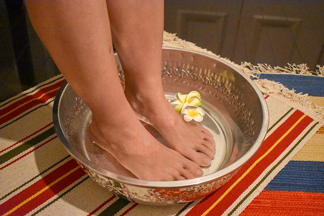バオジャイ(BaoCai) 足浴に入りながらゆっくりと♪
