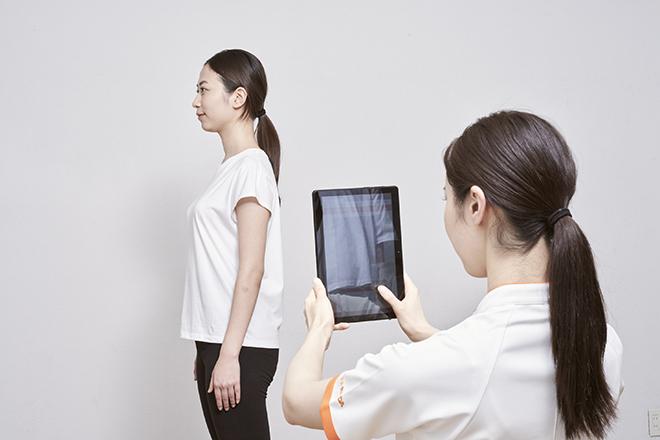AIによる姿勢分析を体験