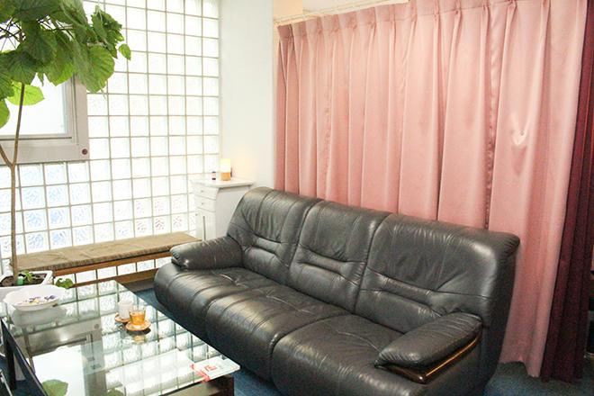 大きなソファーで☆