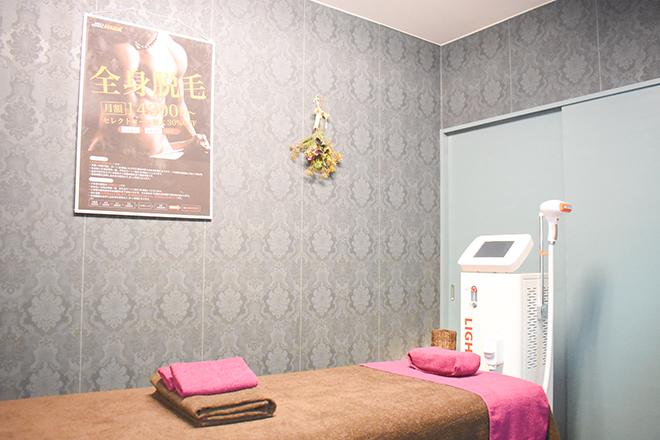 完全個室での施術
