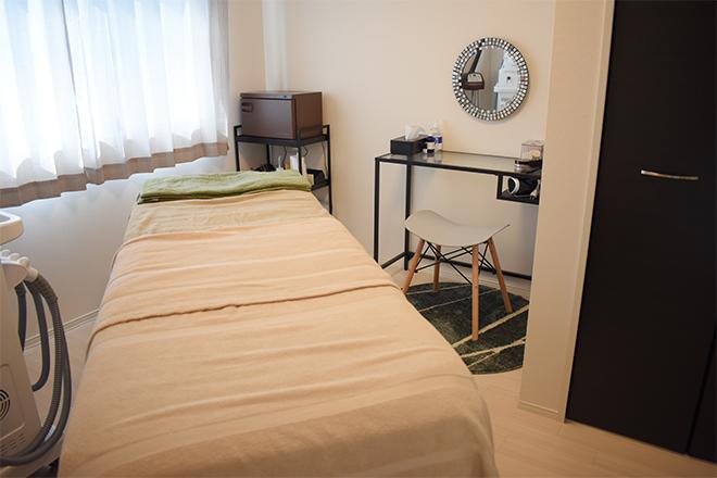 完全個室の施術スペース