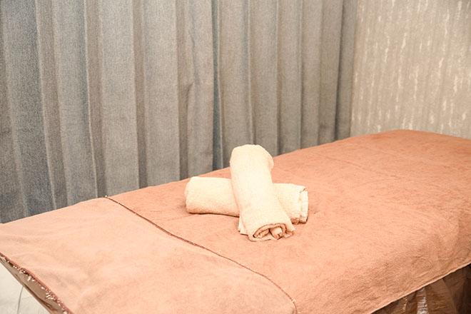 ヒートマット完備のベッド!