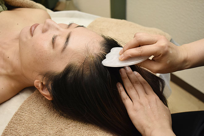 心地よい刺激で頭皮環境の改善や美髪も期待!