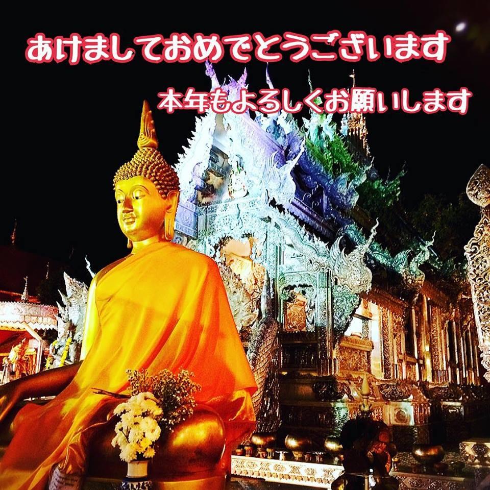 タイ王国チェンマイのお寺です☆銀細工の街にあり、細工がとても豪華です!