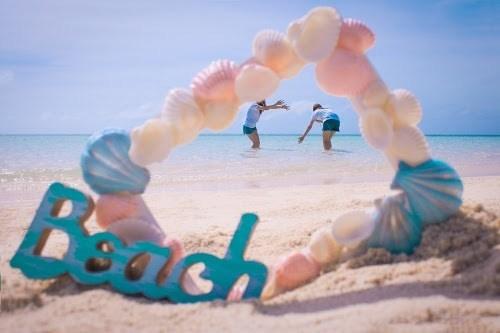 夏にはビーチで思いっきり楽しみたいですね♡