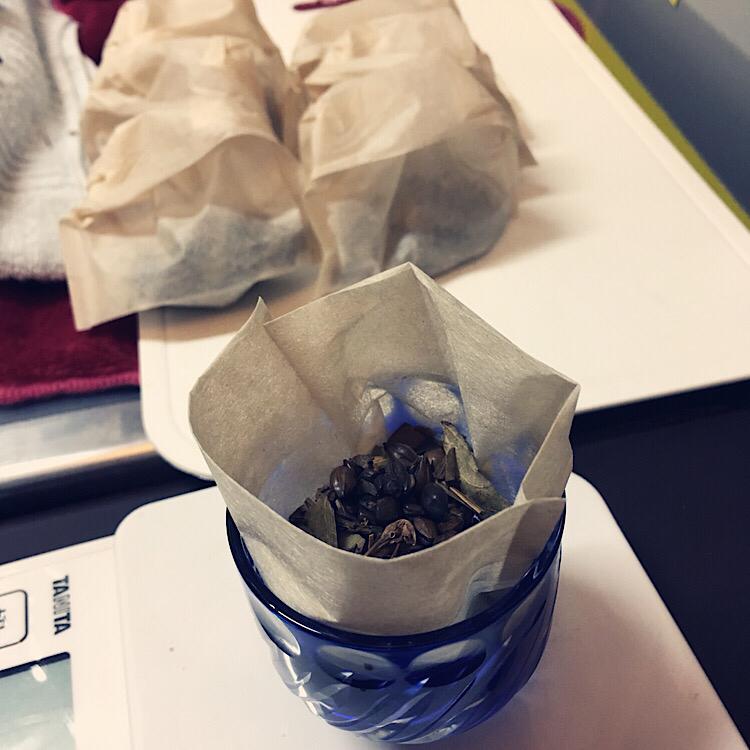 ビワ茶つくり