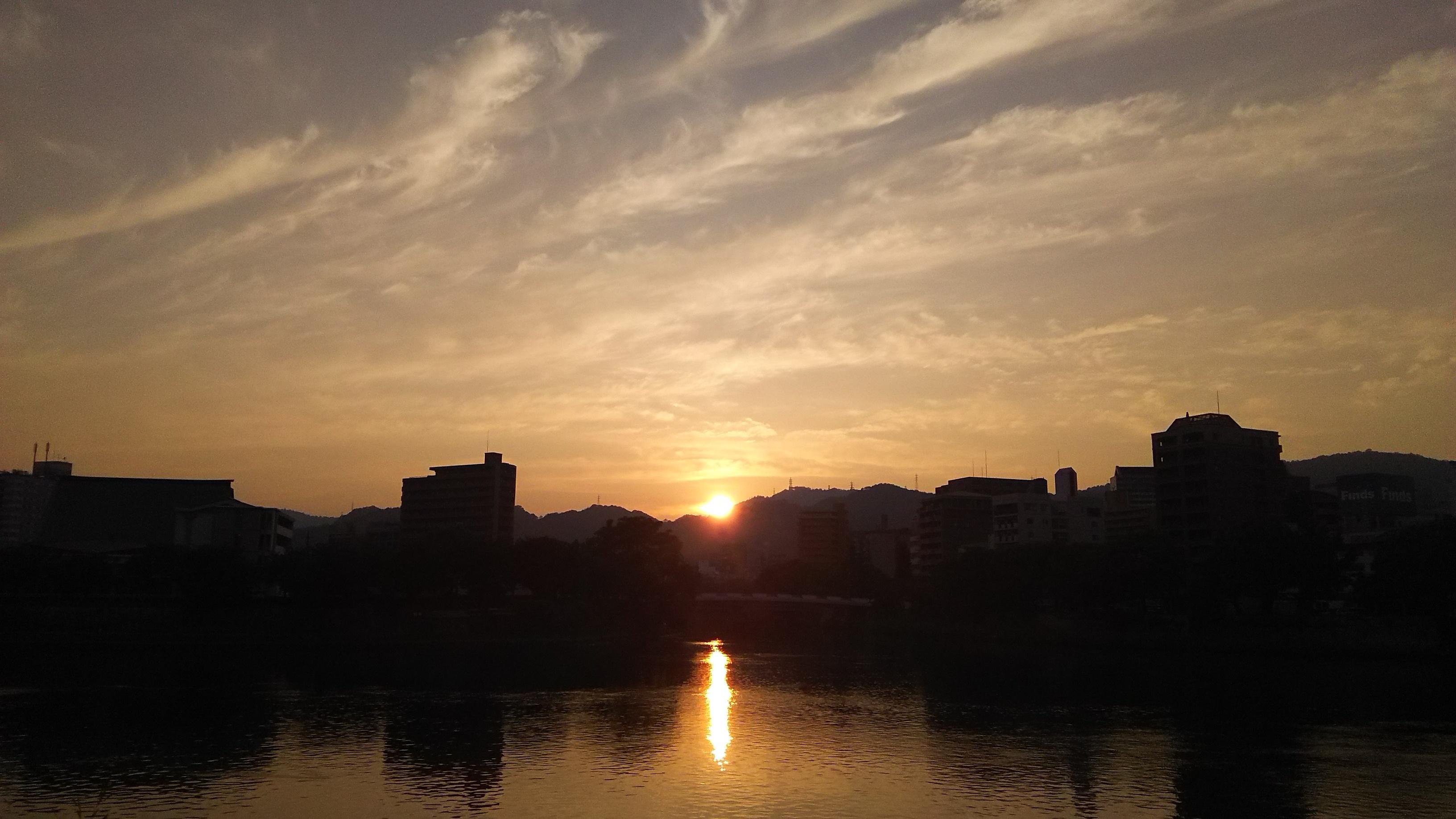 太田川沿い