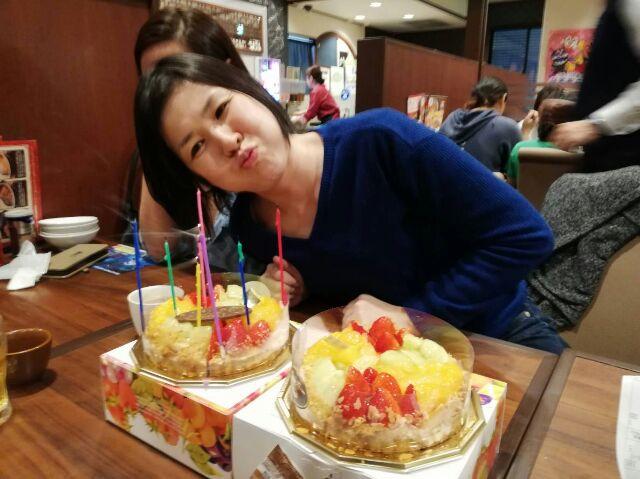 大﨑さんのお誕生日。