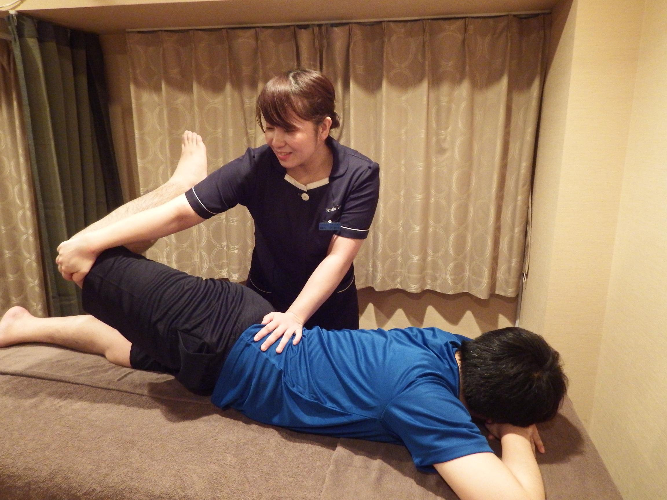 男女スタッフ在籍★ペア予約OK♪日本人、有資格スタッフ!