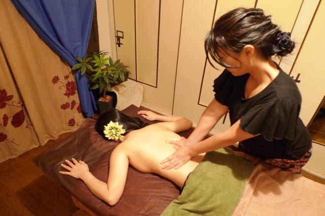 アジュガ(Relaxation Salon Ajuga) アロマケアですっきり♪
