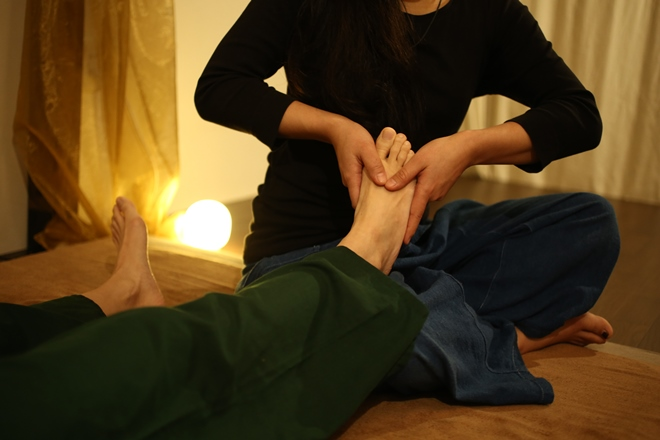 タイ古式マッサージ&足裏 木霊 デトックス効果の高い足裏