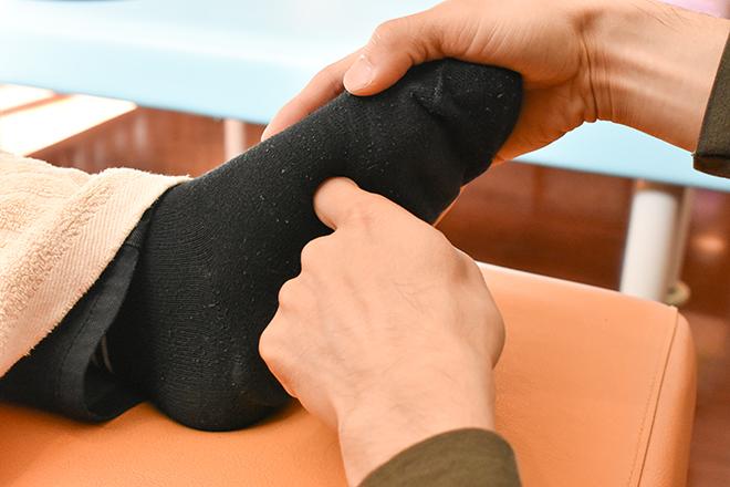 うさっぷ(整体もみ処&美容) 足裏も丁寧に刺激することで健康な状態へ