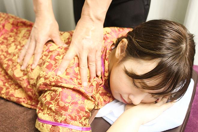 お疲れを癒して、全身軽い状態を目指す施術