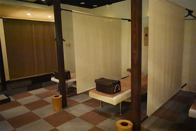 らく~ね 鎌取店 イオンスタイル鎌取の中にある癒しのサロン