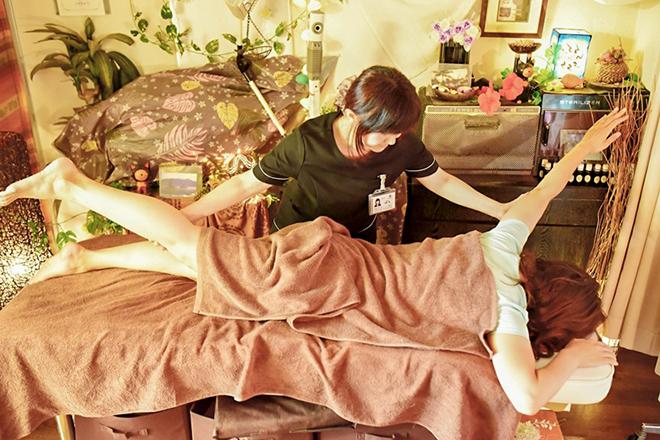 Relax Time 二大お悩みであるお腹と脚にWアプローチ!