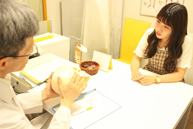 ヤノ美容整体スタジオ(YANO) しっかり丁寧にヒアリングいたします