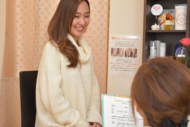 美泉ビューティーサロン 神戸三宮店 施術終わりもしっかりフォロー♪
