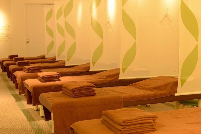 リラク 上尾ショーサンプラザ店(Re.Ra.Ku) 施術スペースはオープンな雰囲気です。