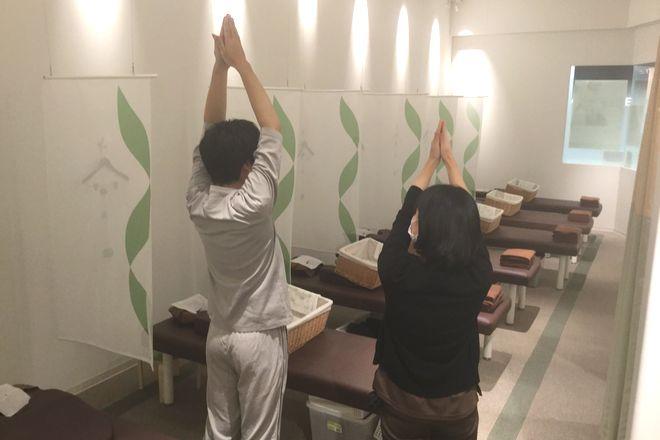 リラク イオンモール木更津店(Re.Ra.Ku) 柔軟チェックでお身体のコンデションチェック!
