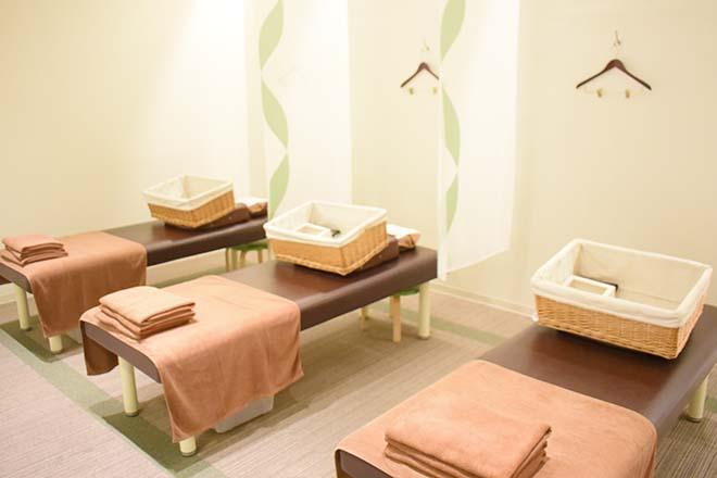 リラク アクアシティお台場店(Re.Ra.Ku) 綺麗で清潔感のあるベッドです