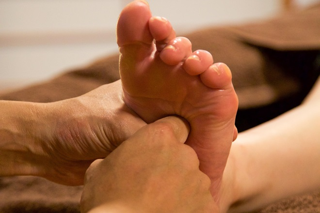 わのや 足裏リフレで脚の疲れをスッキリに♪