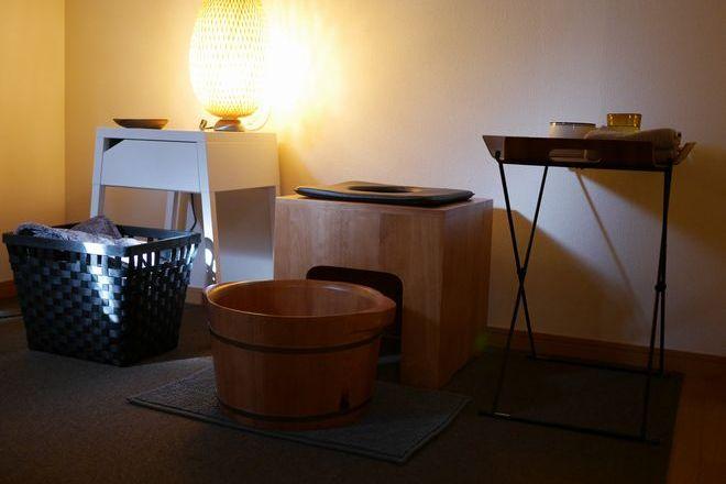 Loji box ヨモギ蒸しも個室