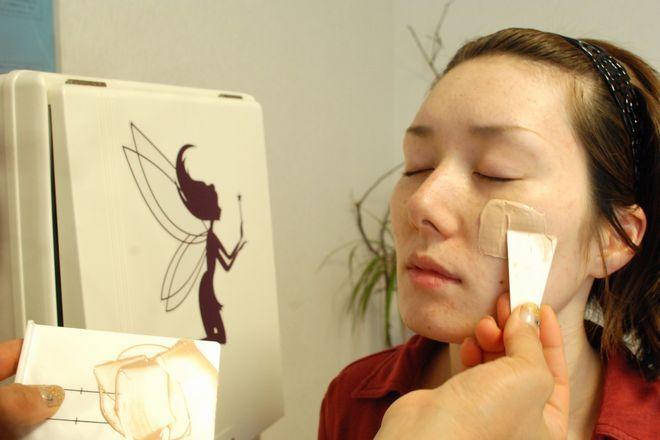 サリ(肌能力回復エステsari) お肌の精密検査、肌質分析