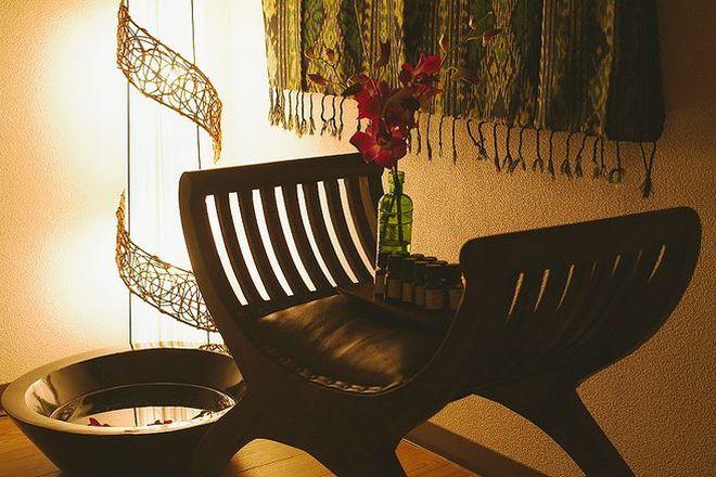 サラン(リラクゼーションサロン Sarang) バリ風店内