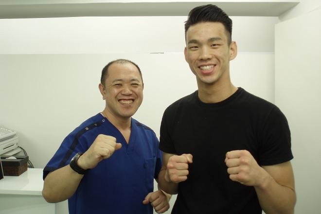 飯田橋健美整体院 腰が命のプロボクサー