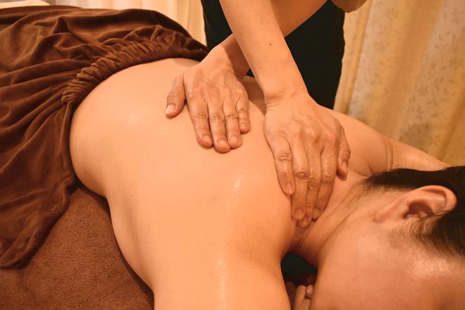 プリマージュ(エステサロンPrimage) お体を温め、心地よい手技でほぐします☆