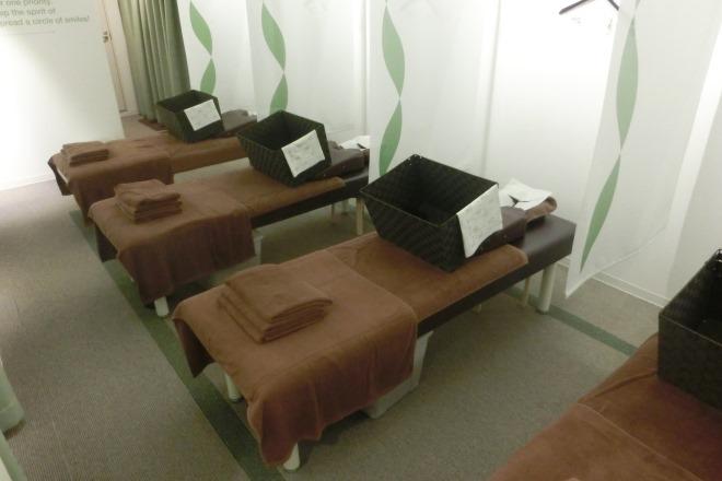 リラク 千駄木店(Re.Ra.Ku) ベッドスペースは落ち着いた雰囲気