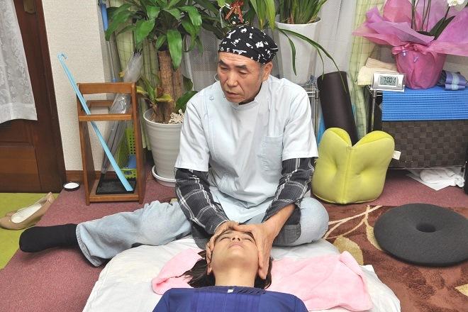 幸福堂 頭蓋骨の歪みを改善する施術