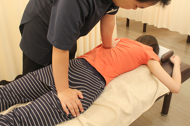 筋膜リリースで正しい姿勢を目指します