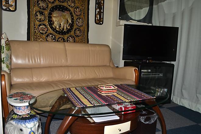 タイ古式マッサージ ロンポー 待合室でゆったりお過ごしください♪