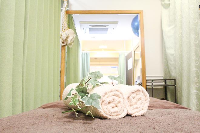 かとう治療院 「自然」をイメージした、清潔感たっぷりな店内