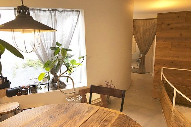 アンリノ(エステルーム unLino) こだわりの内装はおしゃれなカフェ風です。