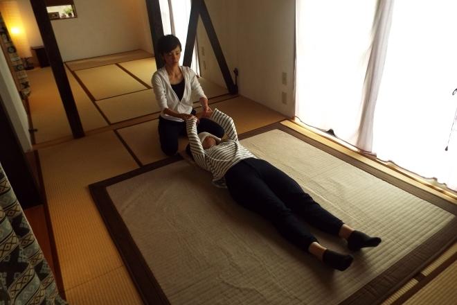 しんそう川口桜町 手足の左右バランス検査