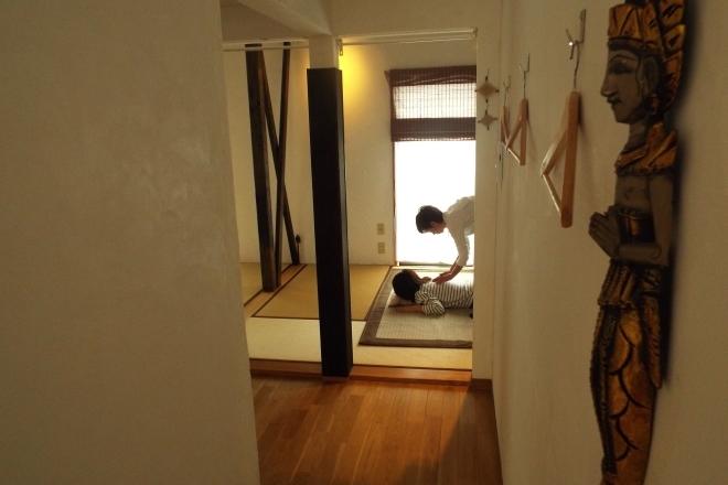 しんそう川口桜町 施術所の風景です