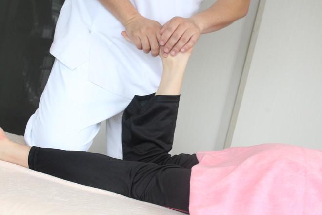 やぎ鍼灸接骨院 実際の施術
